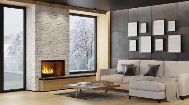 tv next to fireplace ideas