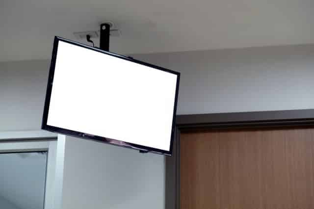 How To Hang Tv From Ceiling